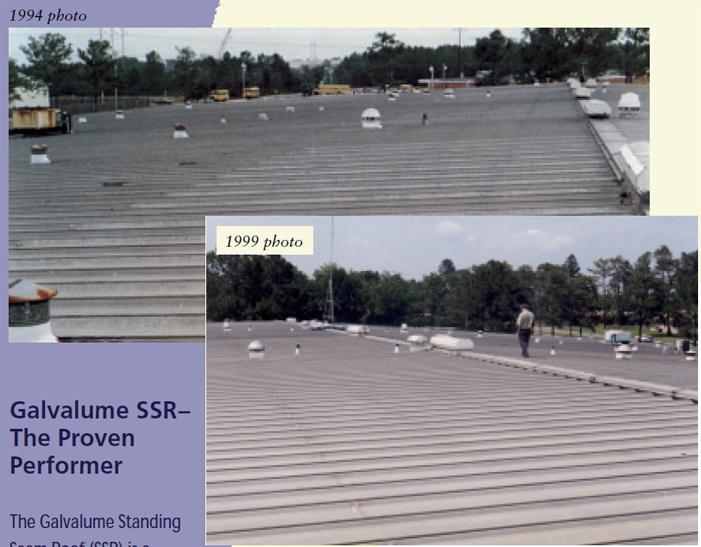 ミシシッピー州のガルバリウム鋼板屋根