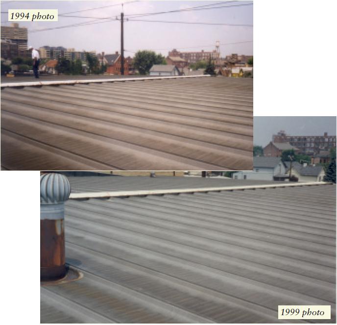 インディアナポリス、IN ガルバリウム鋼板屋根
