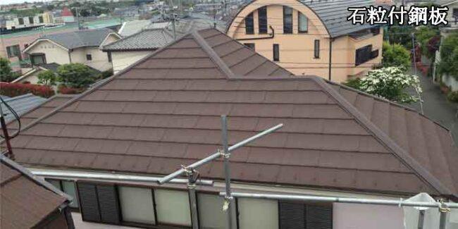 エコグラーニ茶の屋根