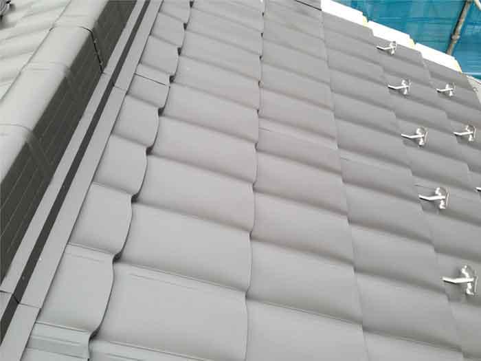 ガルバリウム鋼板施工03