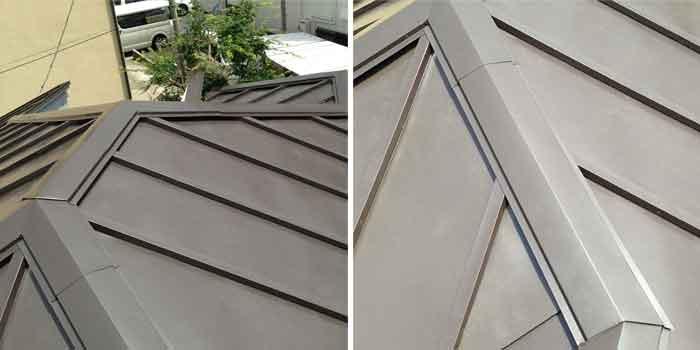 トタン屋根工事完成写真