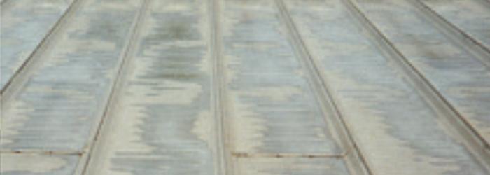 ガルバリウム鋼板 耐用試験