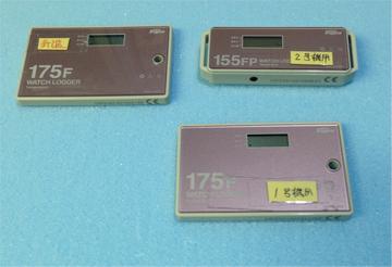 連続記録電子温度計