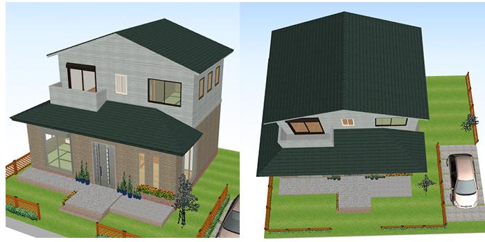 建坪15坪の家