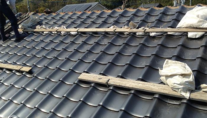 築32年・瓦屋根のルーフィング劣化