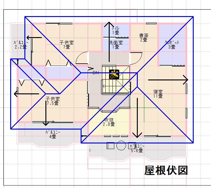 25坪家、モデルハウス平面図画像