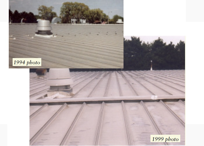 トタン屋根の様子2画像