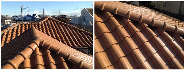 洋瓦屋根の外観写真